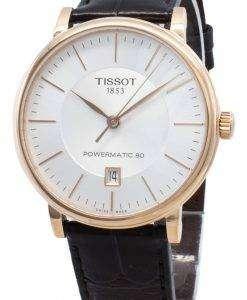 ティソTクラシックカーソンT122.407.36.031.00 T1224073603100自動メンズ腕時計