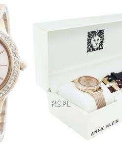 アンクライン3418RGSTダイヤモンドアクセントクォーツレディース腕時計