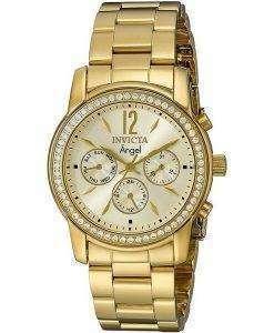 インビクタエンジェル11770ダイヤモンドアクセントクォーツレディース腕時計