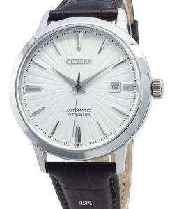 シチズン自動NJ2180-11Aチタンメンズ腕時計