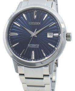 シチズン自動NJ2180-89Lチタンメンズ腕時計