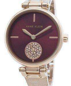 アンクライン3000BYRGダイヤモンドアクセントクォーツレディース腕時計