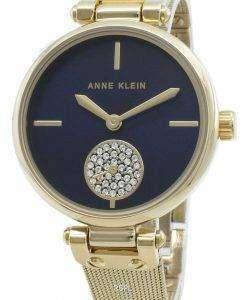 アンクライン3000NVGBダイヤモンドアクセントクォーツレディース腕時計