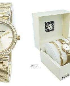アンクライン3424GBSTダイヤモンドアクセントクォーツレディース腕時計