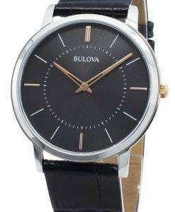 ブローバクラシック98A167クォーツメンズ腕時計