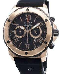 ブローバマリンスター98B104クロノグラフクォーツメンズ腕時計
