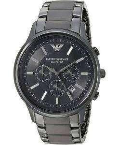 エンポリオアルマーニセラミカAR1451クロノグラフクォーツメンズ腕時計