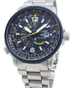 シチズンプロマスターナイトホークBJ7006-56Lエコドライブ200 Mメンズ腕時計