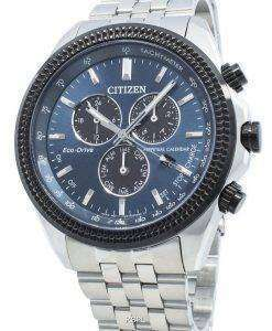 シチズンブライセンBL5568-54Lエコドライブタキメーターメンズ腕時計