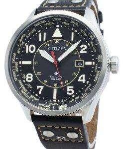 シチズンプロマスターナイトホークBX1010-02Eワールドタイムエコドライブ200 Mメンズ腕時計