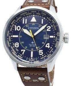 シチズンプロマスターナイトホークBX1010-11Lワールドタイムエコドライブ200 Mメンズ腕時計