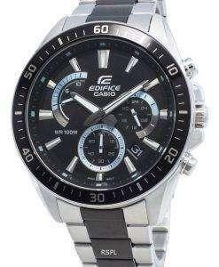 カシオエディフィスEFR-552SBK-1AV EFR552SBK-1AVクロノグラフメンズ腕時計