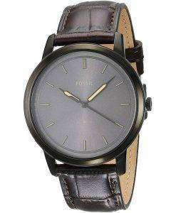 FossilミニマリストFS5573クォーツメンズ腕時計