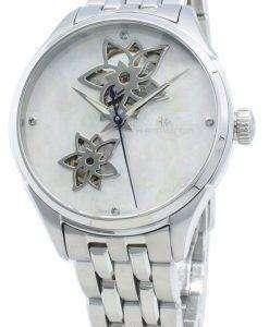 ハミルトンジャズマスターH32115192ダイヤモンドアクセント自動レディース腕時計