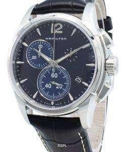 ハミルトンジャズマスタークロノH32612741クォーツメンズ腕時計