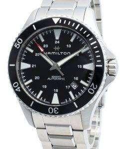 ハミルトンカーキネイビーH82335131自動巻きメンズ腕時計