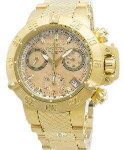 インビクタSubaqua 30475クロノグラフクォーツ500 Mレディース腕時計
