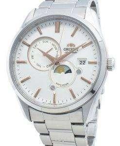 オリエントサン&ムーンRA-AK0301S10Bメンズ腕時計