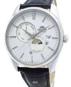 オリエントサン&ムーンRA-AK0305S10B自動メンズ腕時計