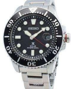 セイコープロスペックスSBDJ017ダイバー200 Mソーラージャパン製メンズ腕時計