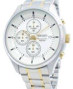 セイコークロノグラフSKS541 SKS541P1 SKS541Pクォーツメンズ腕時計