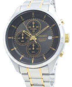 セイコークロノグラフSKS543 SKS543P1 SKS543Pクォーツメンズ腕時計