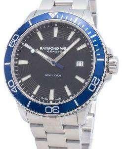 レイモンドウェイルジュネーブタンゴ8260-ST3-20001クォーツ300 Mメンズ腕時計