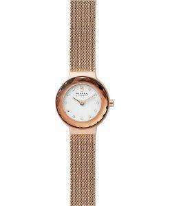 スカーゲンレオノーラSKW2799ダイヤモンドアクセントクォーツレディース腕時計