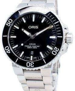 Oris Aquis Date 01733 7730 4134-07 8 24 05PEB 01-733-7730-4134-07-8-24-05PEB自動300Mメンズウォッチ