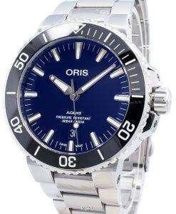 Oris Aquis Date 01733 7730 4135-07 8 24 05PEB 01-733-7730-4135-07-8-24-05PEB自動300Mメンズウォッチ