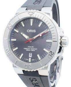 Oris Aquis Date 01733 7730 4153-07 4 24 63EB 01-733-7730-4153-07-4-24-63EB自動300Mメンズウォッチ