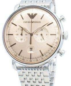 エンポリオアルマーニAR11239タキメータークォーツメンズ腕時計