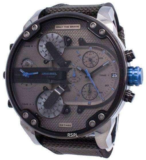 ディーゼルMr.Daddy 2.0 DZ7420クロノグラフクォーツメンズ腕時計