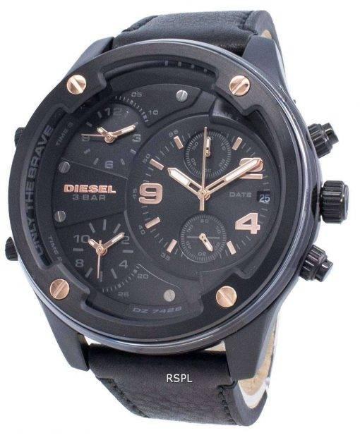 ディーゼルボルトダウンDZ7428クロノグラフクォーツメンズ腕時計