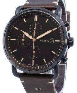化石ザコミューターFS5403クロノグラフクォーツメンズ腕時計