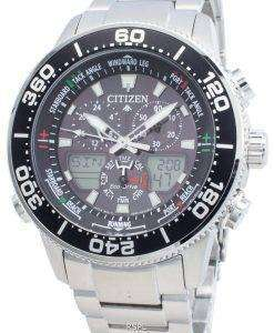 シチズンプロマスターマリンエコドライブJR4060-88Eクロノグラフ200 Mメンズ腕時計