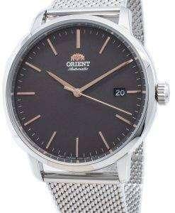オリエント現代RA-AC0E05N10B自動メンズ腕時計