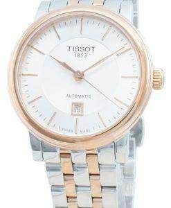 ティソTクラシックカーソンプレミアムT122.207.22.031.01 T1222072203101自動女性用腕時計