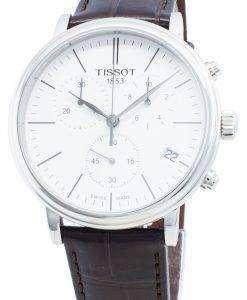 ティソTクラシックカーソンプレミアムT122.417.16.011.00 T1224171601100クロノグラフクォーツメンズ腕時計