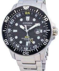 シチズンエコ・ドライブプロマスターマリンBJ7110-89E 200Mメンズ腕時計