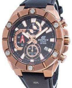 カシオエディフィスEFR-569BL-1AVクロノグラフクォーツメンズ腕時計