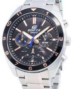 カシオエディフィスEFV-590D-1AVクロノグラフメンズ腕時計