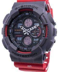 カシオG-ショックGA-140-4A耐衝撃性クォーツ200 Mメンズ腕時計