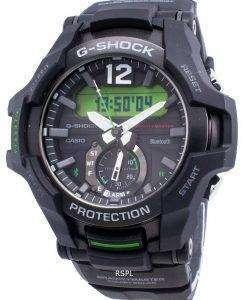 カシオG-ショックブルートゥースGRAVITYMASTER GR-B100-1A3ネオブライトソーラー200 Mメンズ腕時計