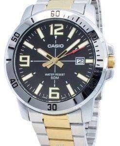 カシオMTP-VD01SG-1BVクォーツメンズ腕時計