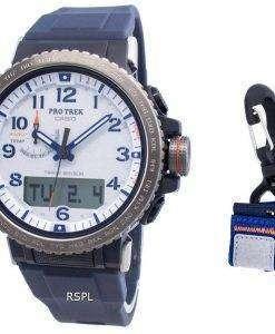 カシオプロトレックPRW-50YAE-2ワールドタイムソーラークオーツメンズ腕時計