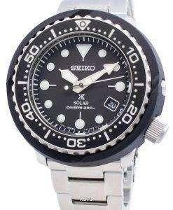 セイコープロスペックスPADIソーラーSNE499 SNE499P1 SNE499P 200 Mメンズ腕時計