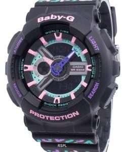 カシオBABY-G BA-110TH-1A耐衝撃性クォーツレディース腕時計