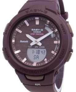 カシオBaby-G Bluetooth BSA-B100AC-5Aステップトラッカーレディース腕時計