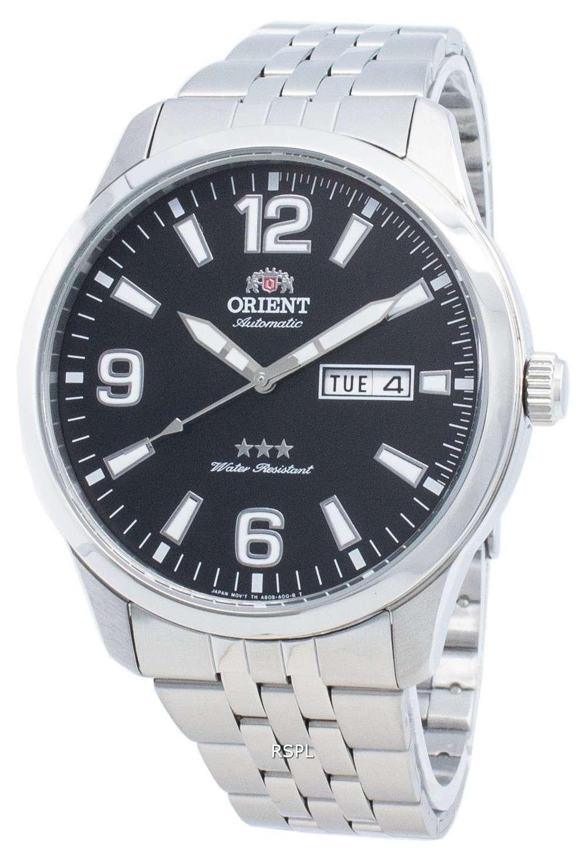 オリエントトライスターRA-AB0007B19B自動メンズ腕時計